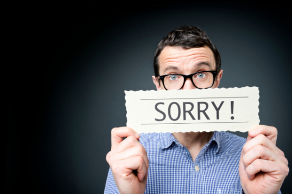 Nail a great apology in 5 simple steps ccuart Images